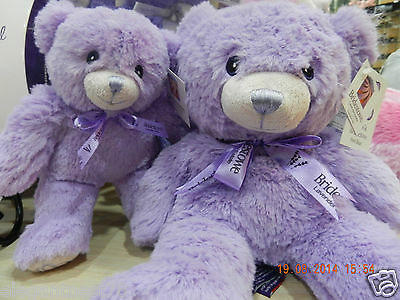 Bridestowe Lavender Bear Bobbie with authentication 30cm Made in Australia