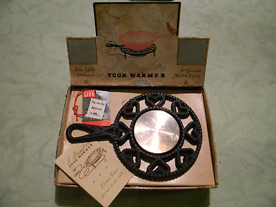 Vintage Food Warmer, Williamsburg Electric Trivet In Box