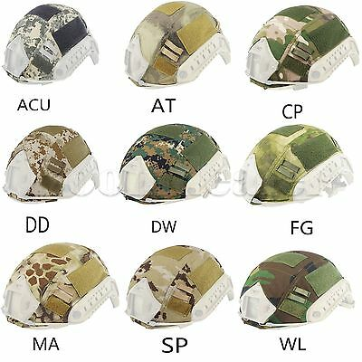 Tactical Military Training Helmet Nylon Cover For OPS-CORE Fast Helmet BJ/PJ/MH