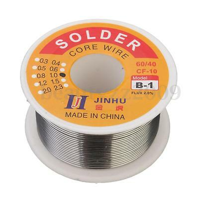 100G 1mm 60/40 Tin Lead Tin Wire Melt Rosin Core Solder Soldering Wire Roll