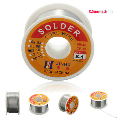 234G 2.3mm 60/40 Tin Lead Tin Wire Melt Rosin Core Solder Soldering Wire Roll