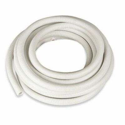 20mm White Flexible Electrical Corrugated Polypropylene Conduit To 100 Mtr