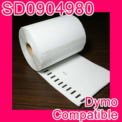 5 rolls of Compatible Dymo Extra Large Shipping Label: SD0904980