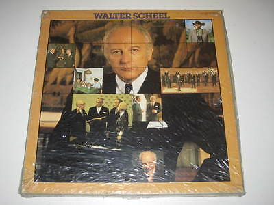 2 Lp Box/walter Scheel/die Talkrunde/188-31666/67 Sealed New Neu
