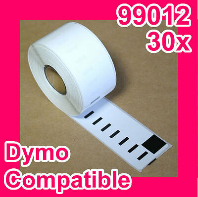 30 Rolls of Quality Label for DYMO LabelWriter-DYMO CODE:99012