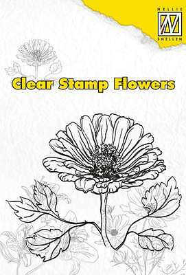 Nellies Choice Clearstamp flowers Marguerite 101202