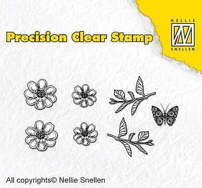 Nellies Choice Clear Stempel Nature anemone 101613