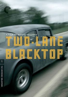 CRITERION COLLECTION: TWO LANE BLACKTOP (2PC) - DVD - Region 1 - Sealed