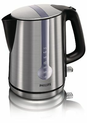 Philips Kettle Electric Cordless Brushed Stainless Steel 3000W 1.7L HD4671/20