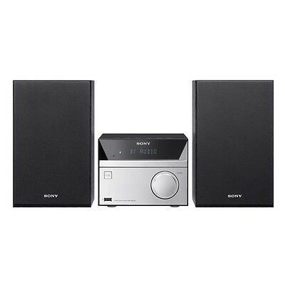 Mini Hi Fi Sony CMTSBT20 Home audio micro system 12W Nero, Argento set audi