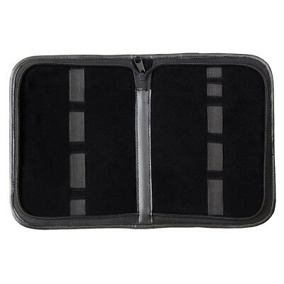 BeadSmith® Black Color Leatherette Tool Case 9 Bands 23x17mm Create A Tool Kit