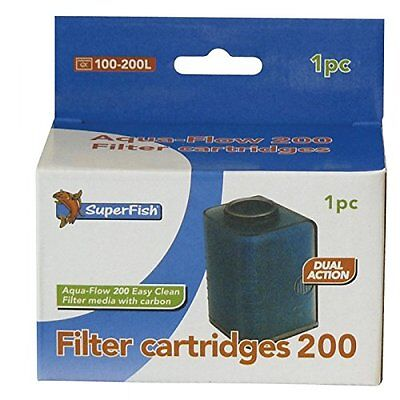 Superfish Aqua-Flow 200 Easy Click Cartridge 150G Pet Supplies This Is For A Pa