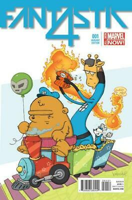 Fantastic Four #1 (Vol 5) Variant Animal Cover by Katie Cook