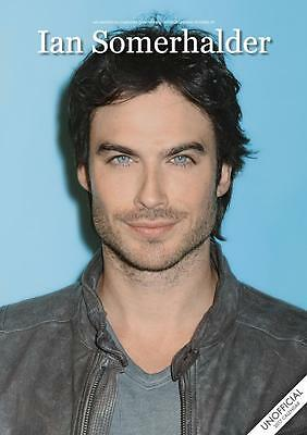 Ian Somerhalder 2017 Large Poster Wall Calendar New With Free Uk Postage !!