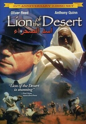 Lion of the Desert [25th Anniversary Edition] [2 (2009, DVD NUEVO) CL (REGION 1)