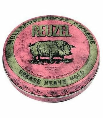 REUZEL Pomade pink heavy hold grease - starker Halt - wenig Glanz