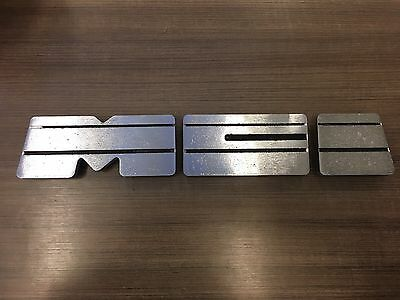 Motor Coach Industries MCI Classic transit bus emblems