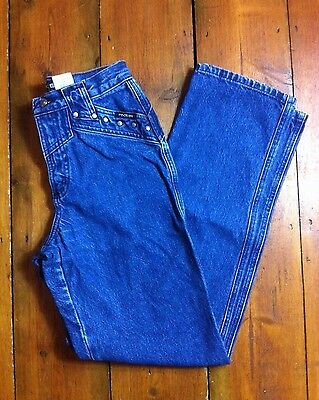 Vtg 90s Tapered Mom Studded HIGH WAISTED Grunge Jeans By 'ROCKIES' retro 8