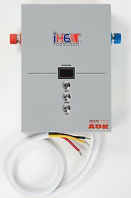 iHeat M-12 12.4kW POU Electric Tankless Water Heater Drakken 220V