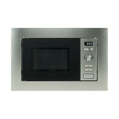 electriQ Built-in 17L Cupboard Fit Stainless Steel Microwave Oven
