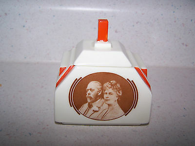 Rare Royal Doulton Art Deco King George V Queen Mary Silver Jubilee 1910 - 1935