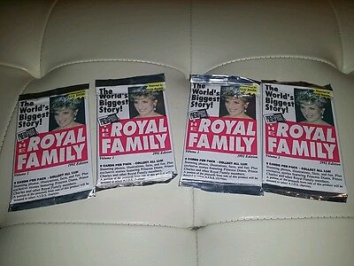 1993 The Royal Family - PressPass - Princess Diana - Trading Cards -Box/50Packs