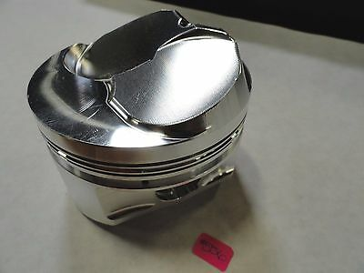Diamond Pistons #12301 BBC Pro 3-D 24/26 deg Dome   4.270 Bore