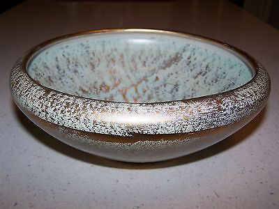 Beautiful Stangl Pottery Antique Gold Collectible Bowl 3980 Trenton Nj