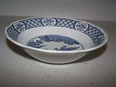 BEAUTIFUL FURNIVALS OLD CHELSEA 6 1/2 inch CEREAL / SOUP BOWL