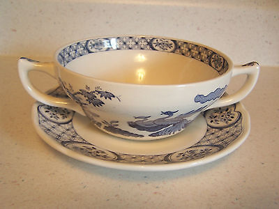 Furnivals Old Chelsea Cream Soup And Underplate Liner