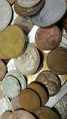 Huge Old Coin Collection Estate Sale Lots Sold By The Pound With Silver Coins !