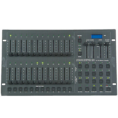 Elation Professional Stage Setter 24 24-Channel DMX Lighting Controller Console  sc 1 st  PicClick & ELATION PROFESSIONAL STAGE Setter 24 24-Channel DMX Lighting ...