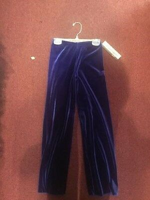 New Body Wrappers Youth Velvet Jazz Pant #0725