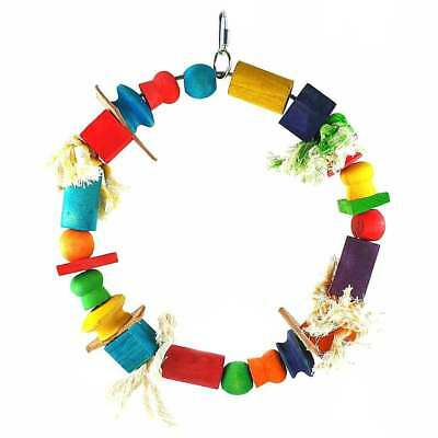 Liberta Parrot Essentials Wooden Play Time Ring Bird Toy