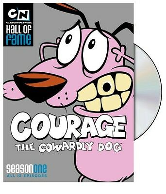 Courage the Cowardly Dog: Season One (2010, DVD NUEVO) (REGION 1)