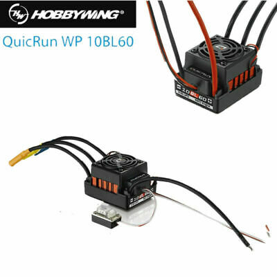 Hobbywing WP 60A QUICRUN-WP-10BL60 Waterproof Brushless ESC For 1/10 RC Car
