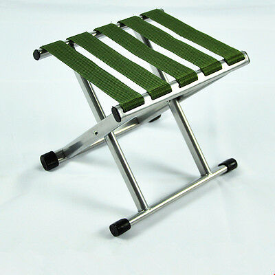 Outdoor Portable Folding Chair Camping Hiking Fishing Picnic Stool Chair Seat