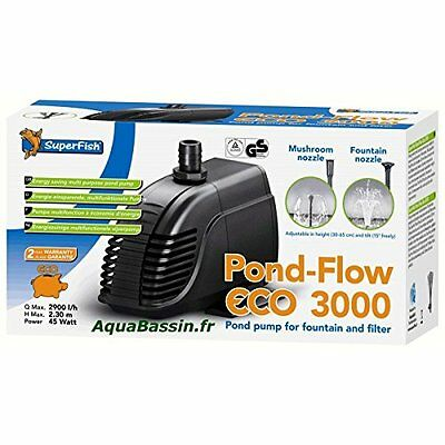 Superfish Pond Flow Eco 3000 Pond Pump 3000G Pet Supplies Delivery Available To