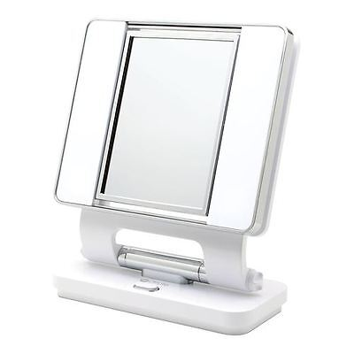 Ottlite Natural Daylight 5x & 1x dual-sided Magnification Lighted Makeup Mirror