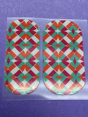 2 Jamberry Pedicure Wraps - Retired - March 2015 Host Exclusive HE