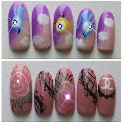 Fashion Nail Art Stickers Accessories NFC Chip Led Lighting False Nails Decals