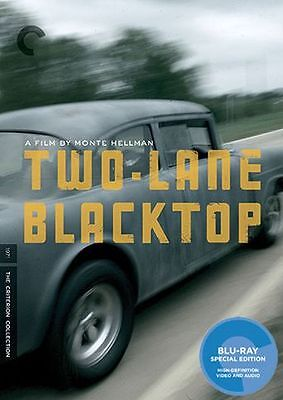 CRITERION COLLECTION: TWO-LANE BLACKTOP - BLURAY - Region A - Sealed