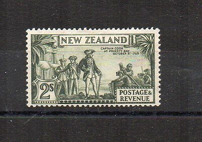 New Zealand 1935-35 2s wmk inverted MH