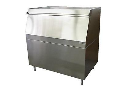 New ICE MACHINE BIN Slope Front (Lift-Door) MODULAR 500LB Stainless Made in USA