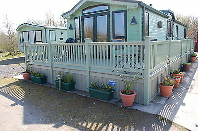 """Static Caravan Skirting Kit New Meadow Green Colour (Up to 38' X 12"""")"""