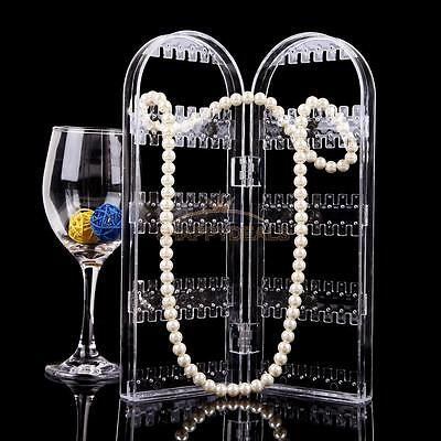 Jewelry Necklace Ring Earring Clear Stand Display Organizer Holder Show Rack NEW