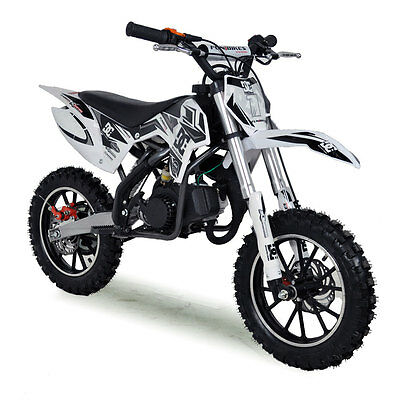 Kids Mini Dirt Bike 50cc FunBikes MXR Moto Cross Petrol Pocket Bike Automatic