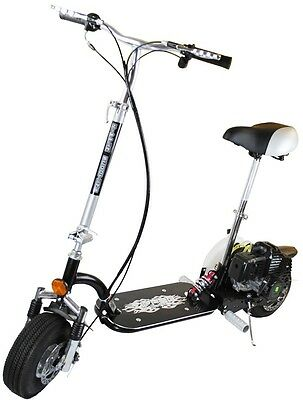 49cc Super Deluxe Micro Petrol Foldable Scooter 50cc 2 Stroke Top Speed 35km/h!!