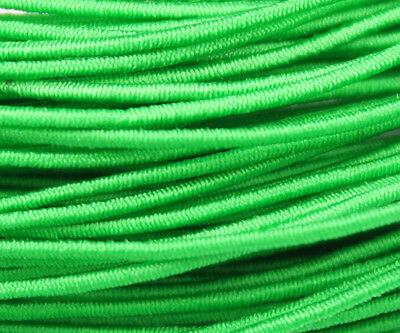 81ft Green 1mm Round Elastic Cord Beading & Crafts Shock Cord (3x9yds)