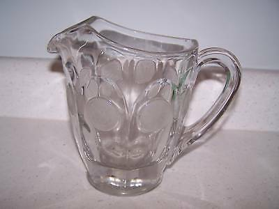 Coin Glass Water Pitcher By Fostoria Glass Company 1958